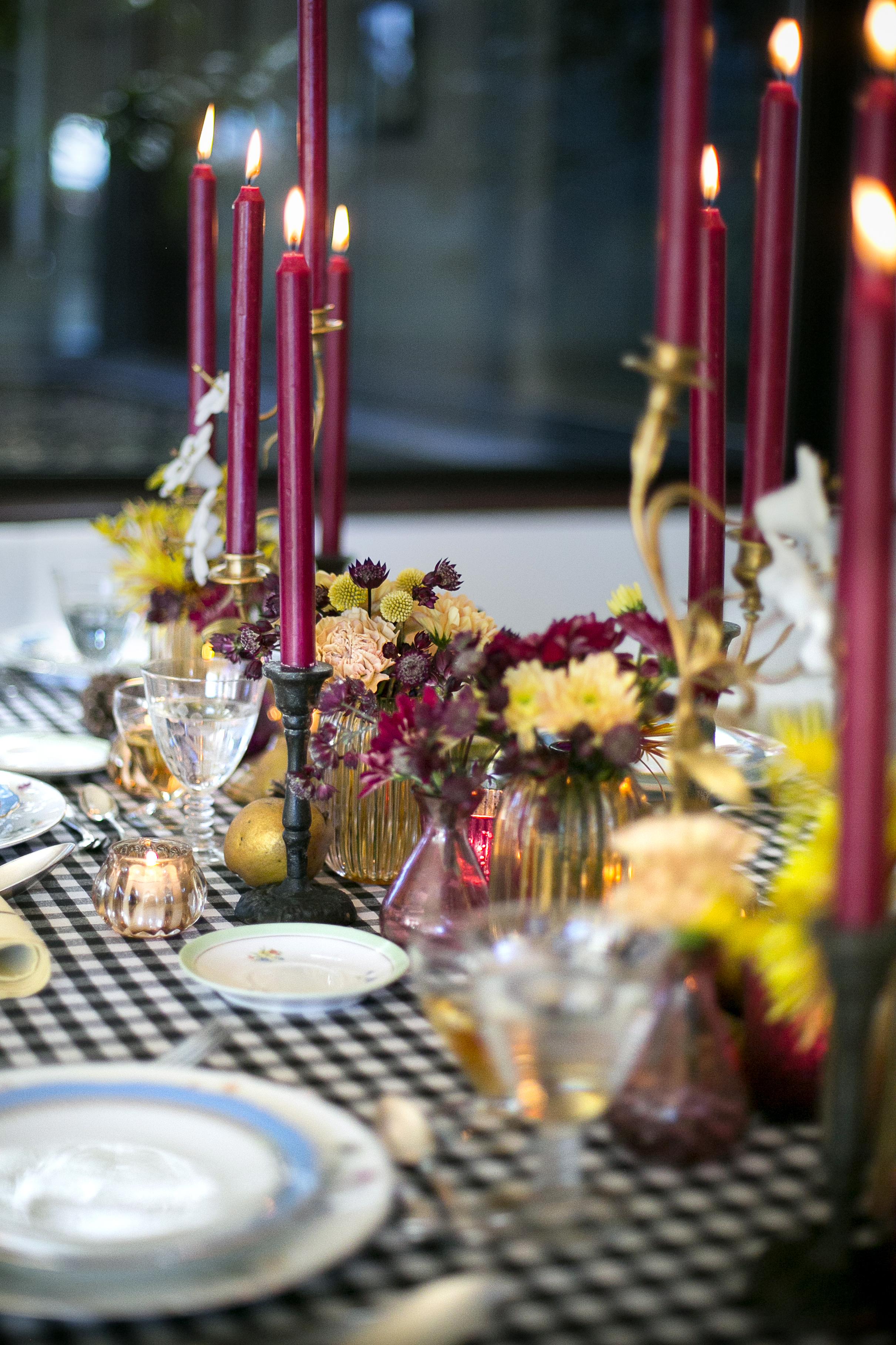 La cena y la mesa más bonita del año