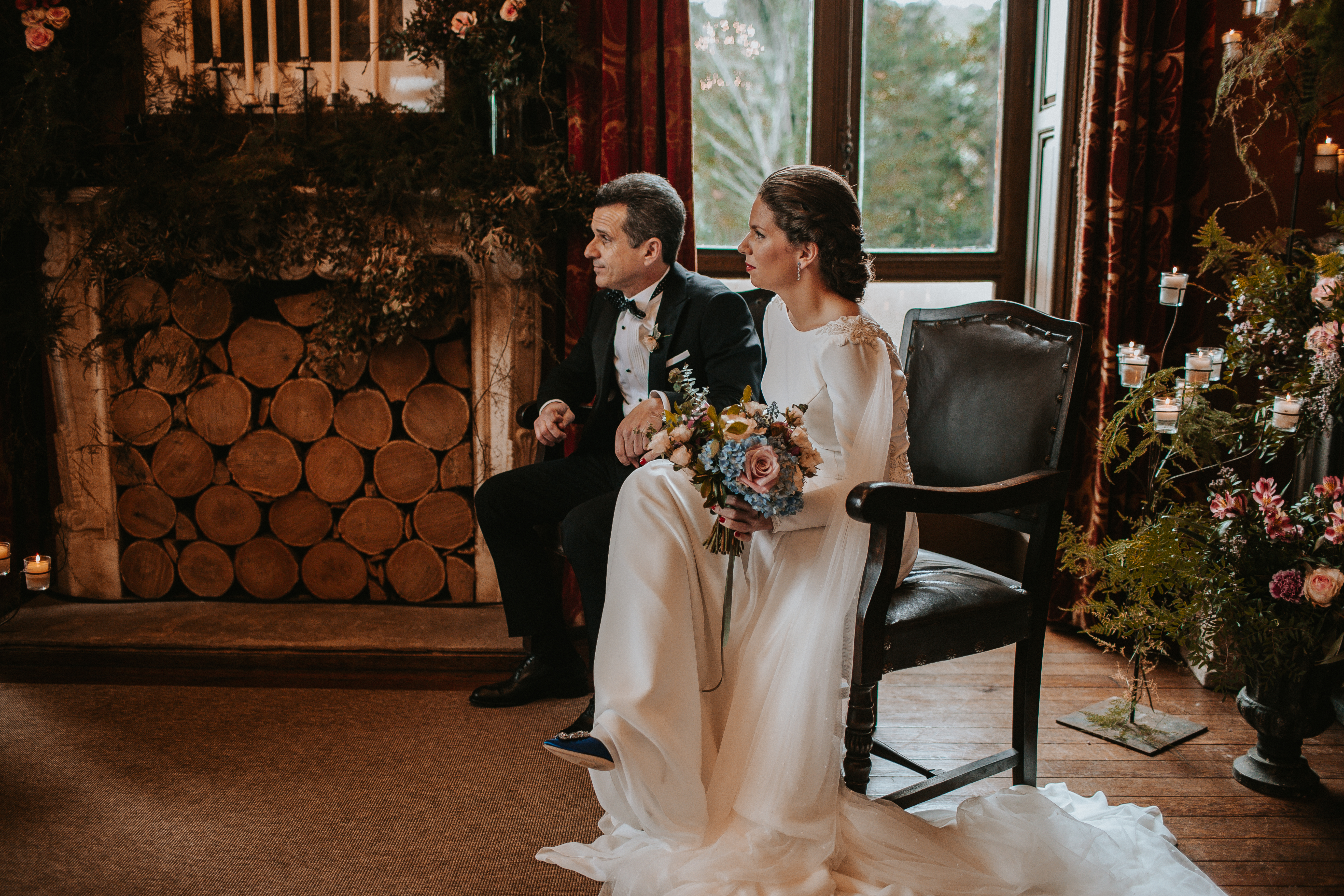 Una boda en el Palacio de la Concepción
