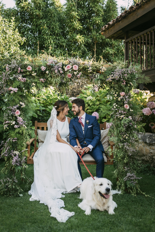 Una boda íntima en el Palacio de Meres II