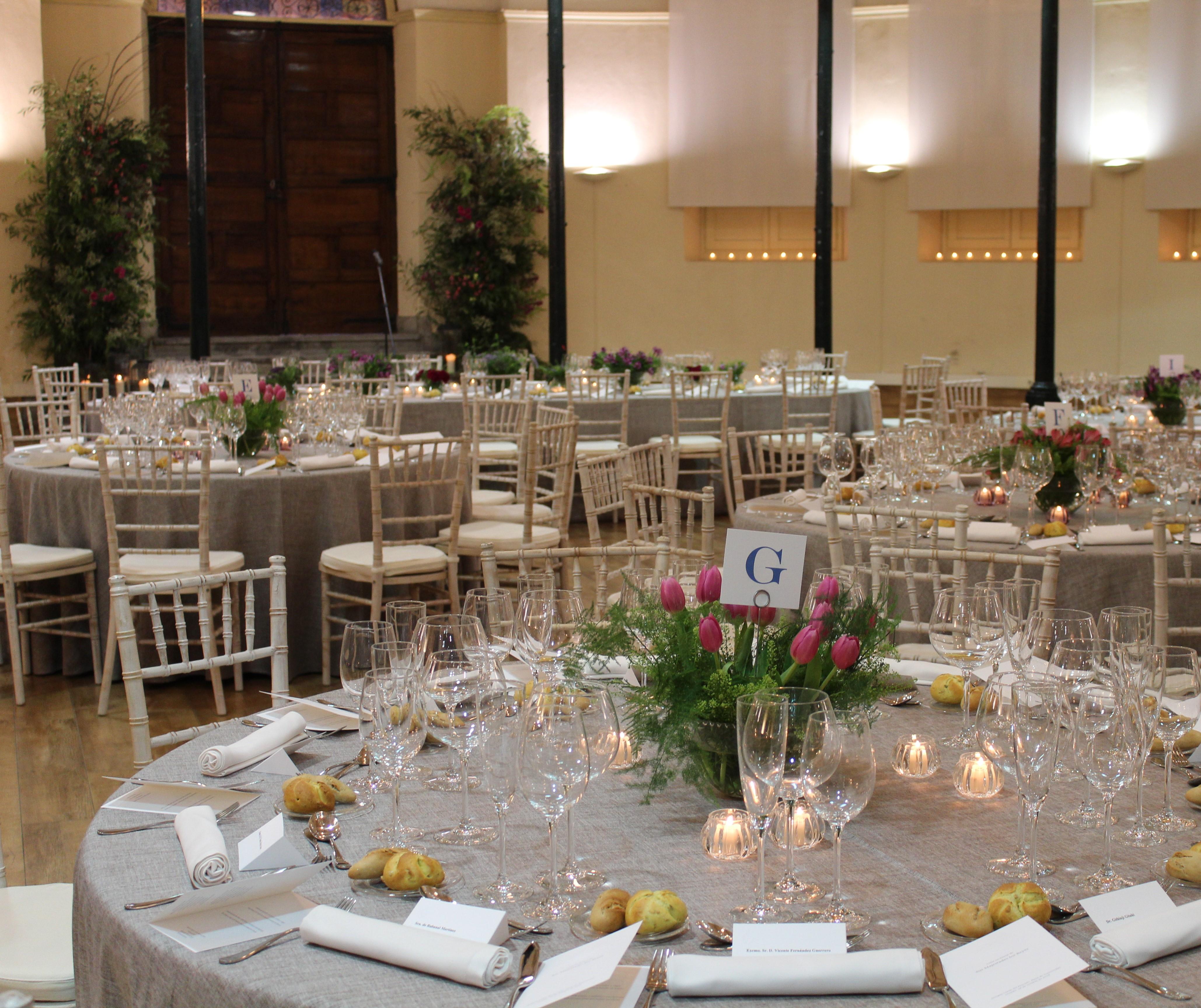 La cena previa a los Premios Princesa de Asturias