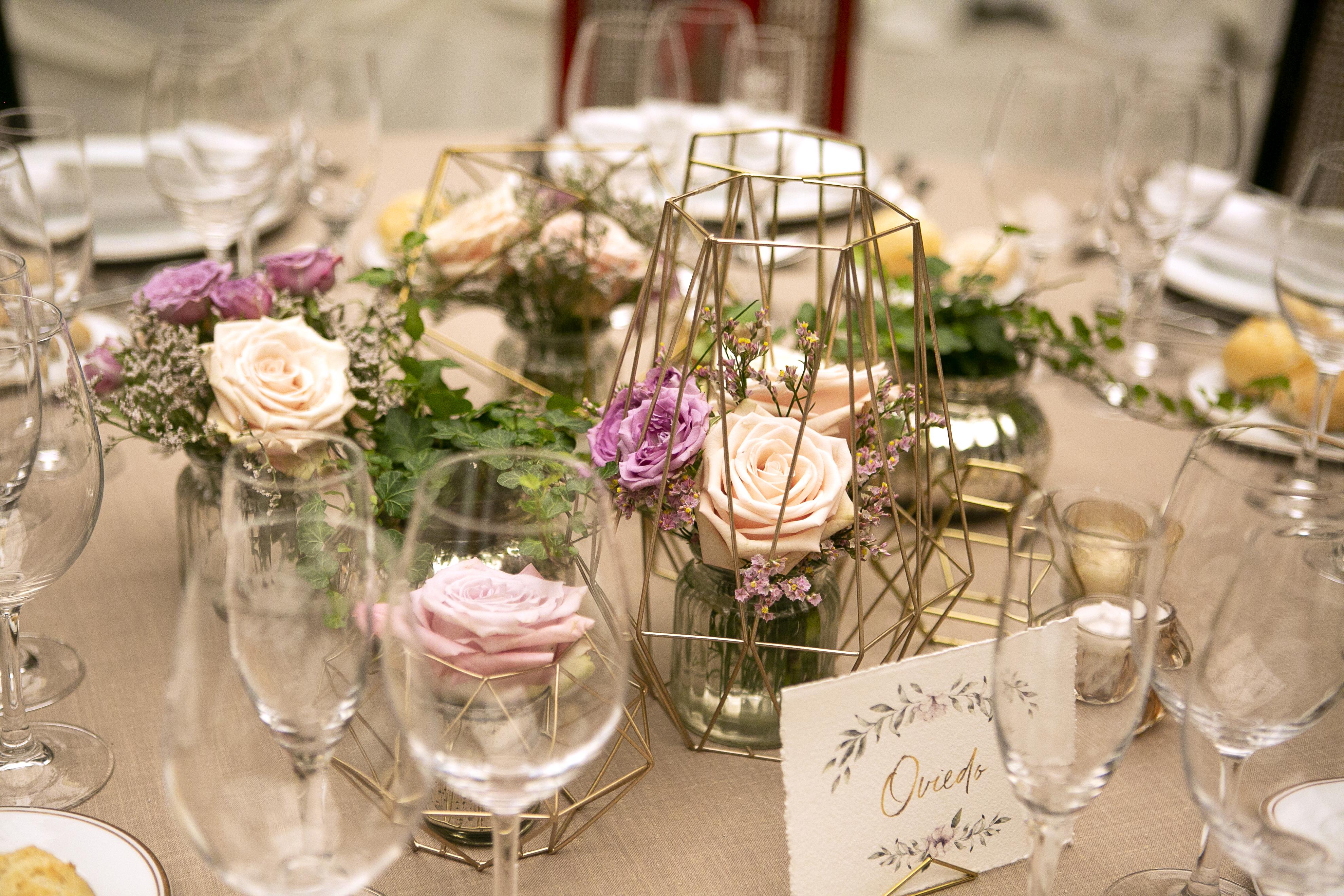 Una boda color pastel