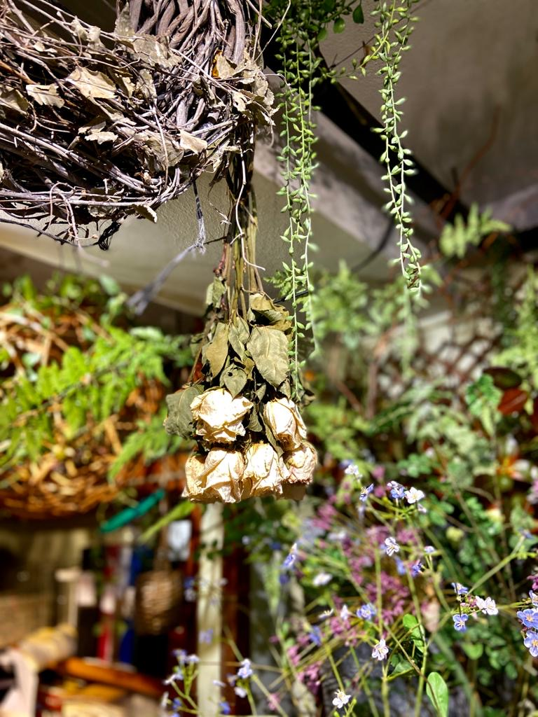 Trucos para secar flores