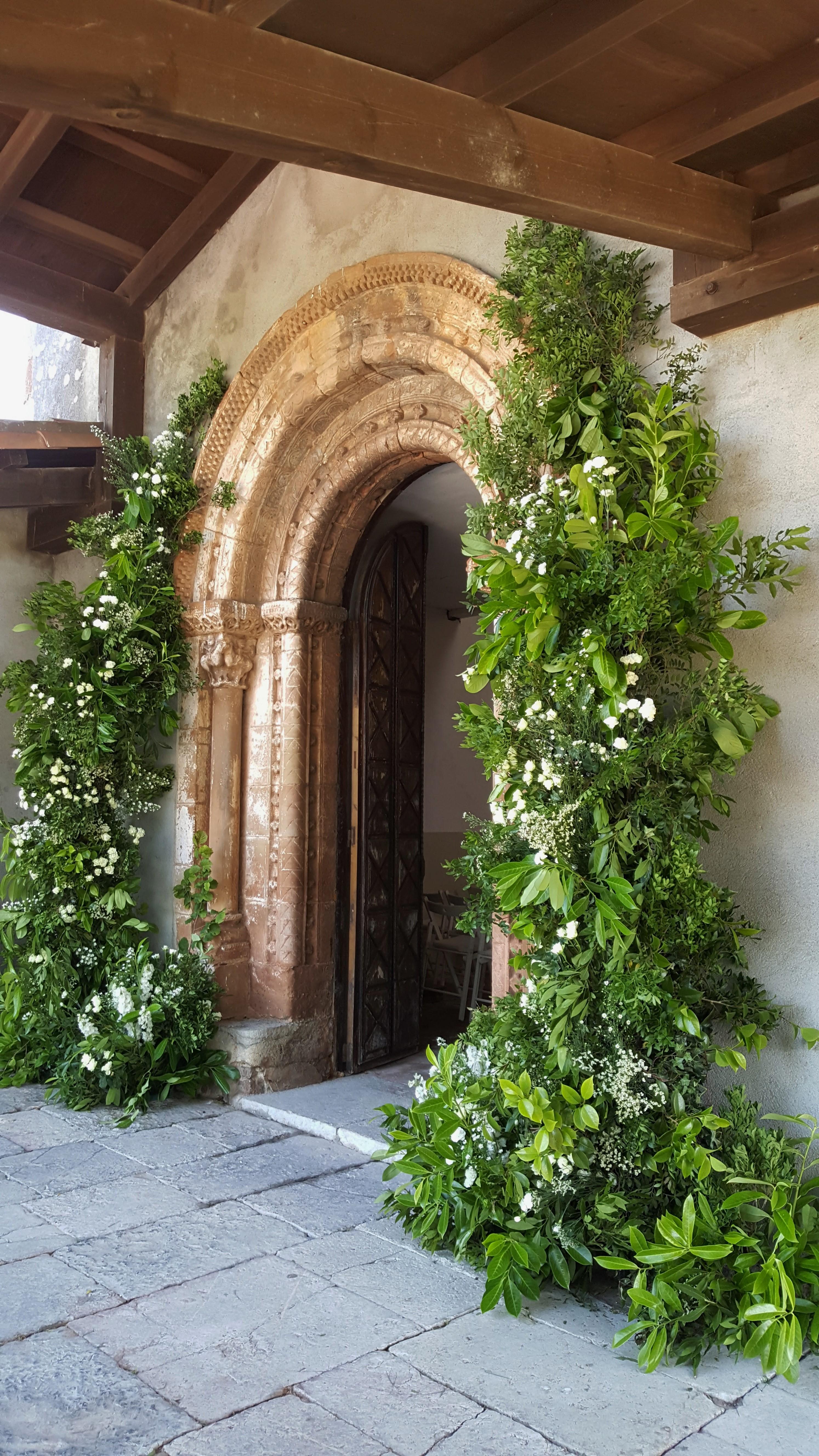Arcos y decoraciones de fachadas