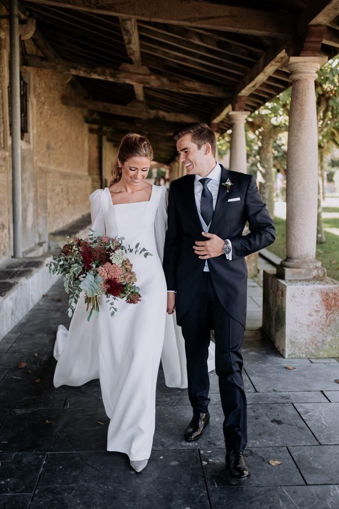 La boda de Andrea en Luanco